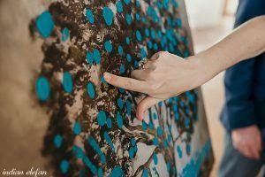 bodas árbol de huella
