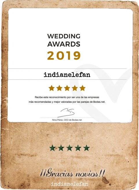 Opiniones indianelefan / Wedding Award