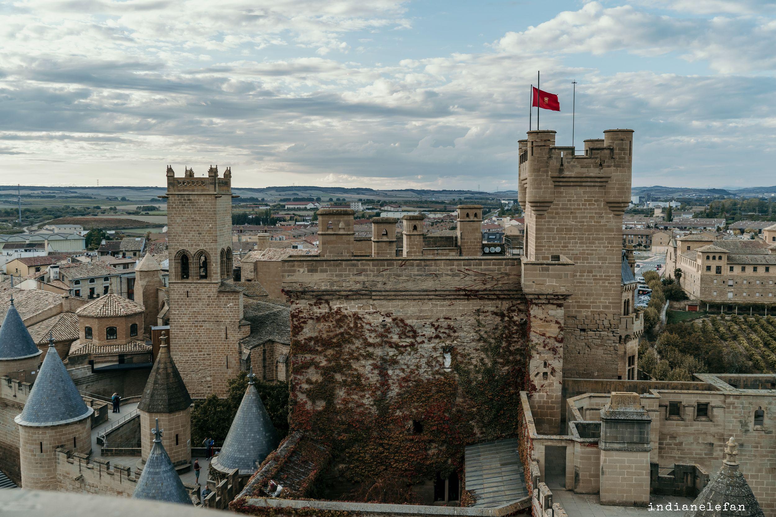 postboda castillo olite